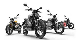 Elektrické motorky značky Super Soco
