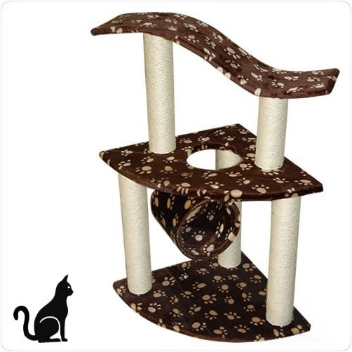 Škrabadlo odpočívadlo 95 cm pre mačky - PETIPET  130aec7a998