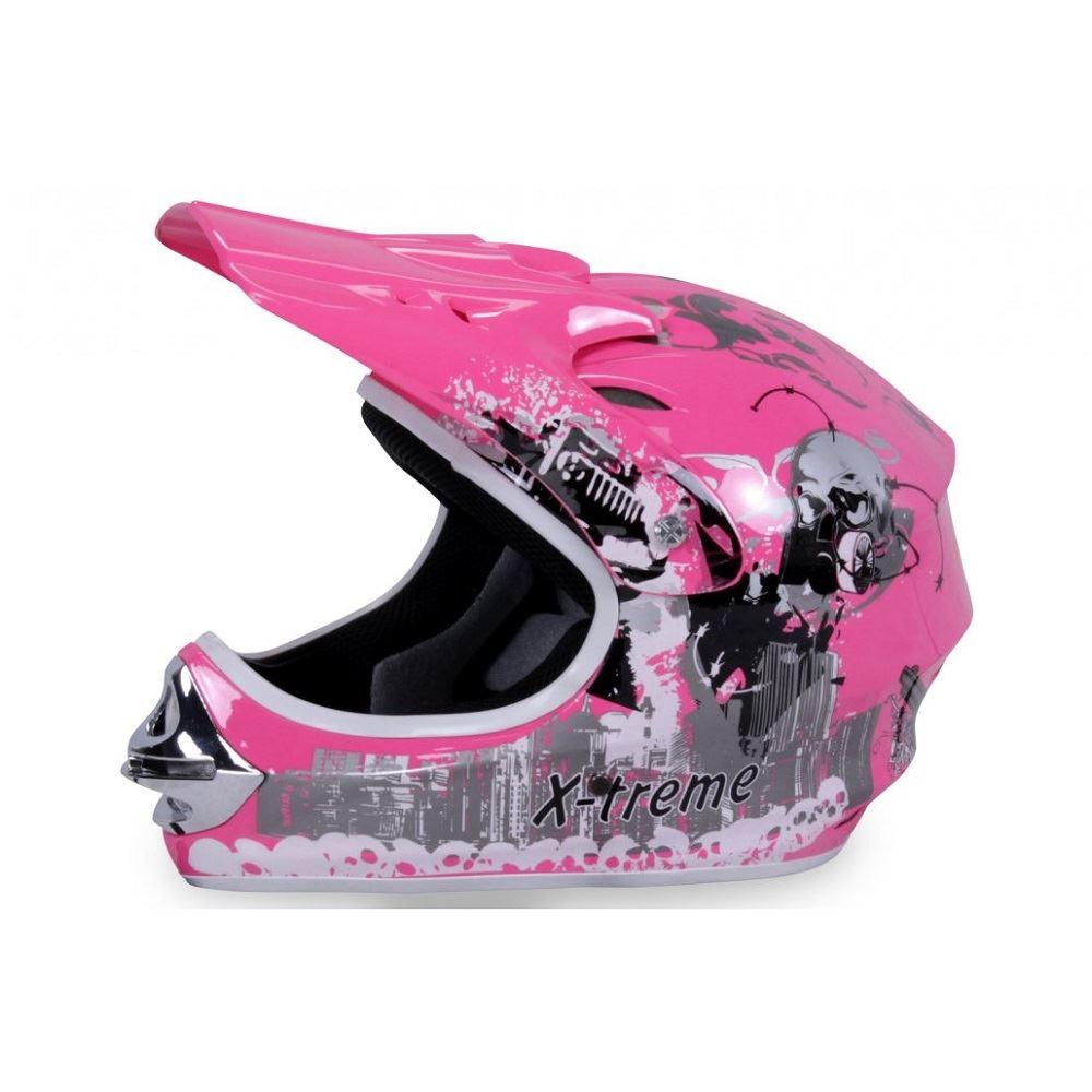 877f2c3141788 Detská helma XTREME, ružová | ATV, štvorkolky, elektrické autíčka ...