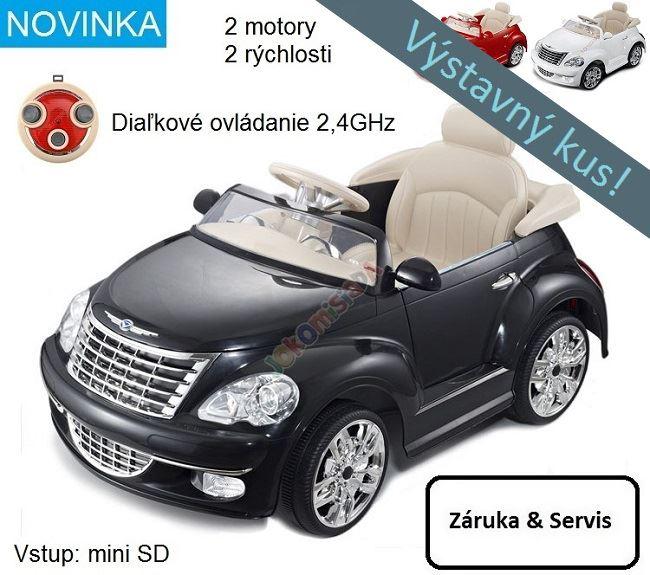 89dc289b8 Joko Elektrické autíčko PT Cruiser, diaľkové ovládanie 2.4GHz, čierne  PA0106 CY