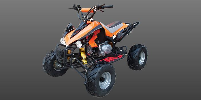 ATV 125 005 8 COL ORANGE