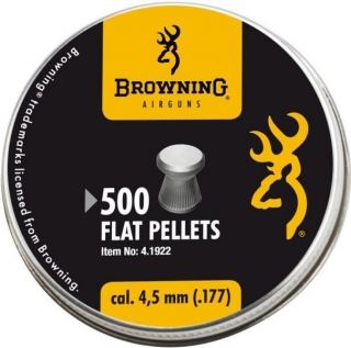 Diabolky Browning Flat 4,5mm 500ks