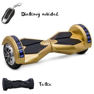 "Hoverboard T8 8,5"" zlatá"