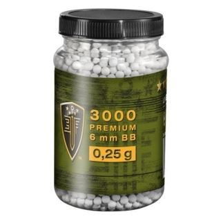 Airsoft. guličky Elite Force Premium 0,25g, 3000ks, kal. 6mm