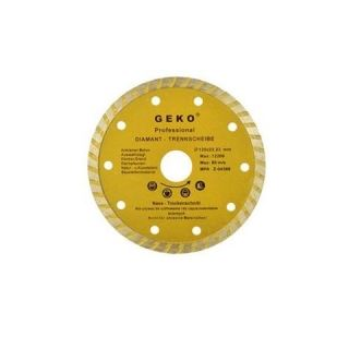 Diamantový kotúč 125mm Turbo - GEKO PROFI G00261